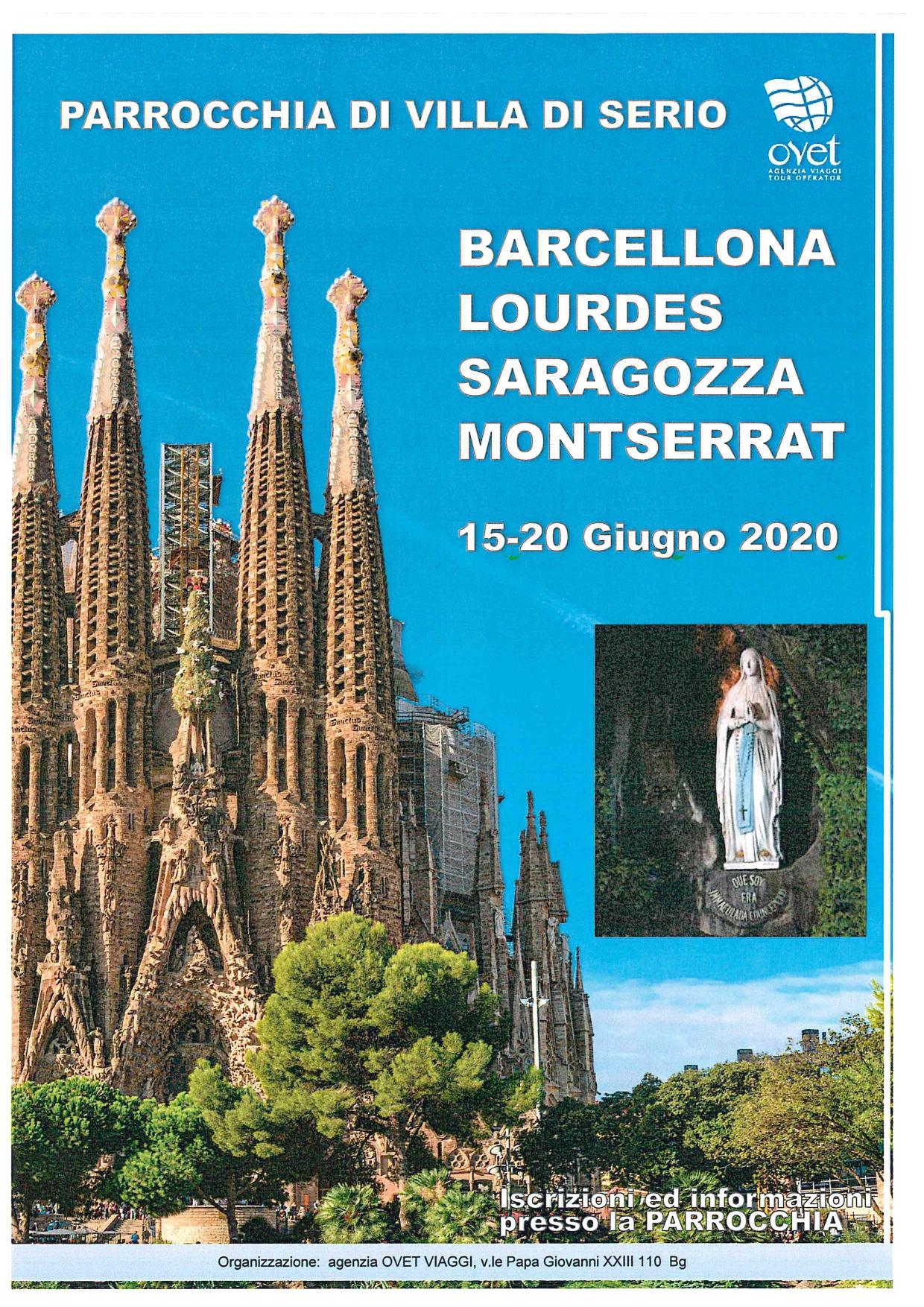 Barcellona Viaggio Giugno 2020