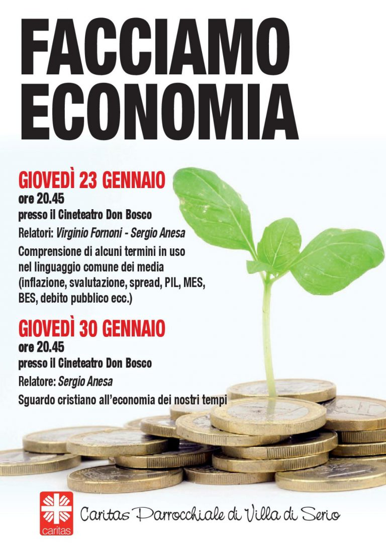 Volantino Facciamo Economia