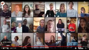 """[VIDEO] """"Maria"""" il Rinnovamento nello Spirito – Coro Laudate"""