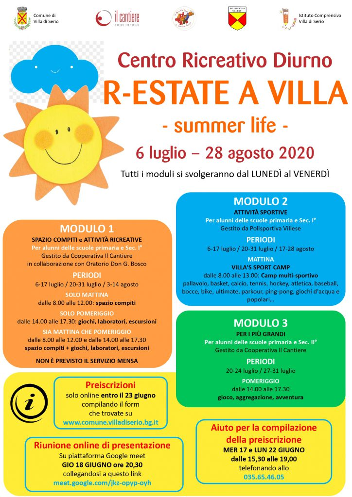 R-ESTATE A VILLA summer life 2020