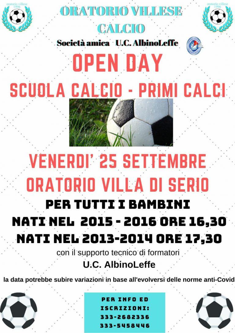 Open Day Scuola Calcio 2020