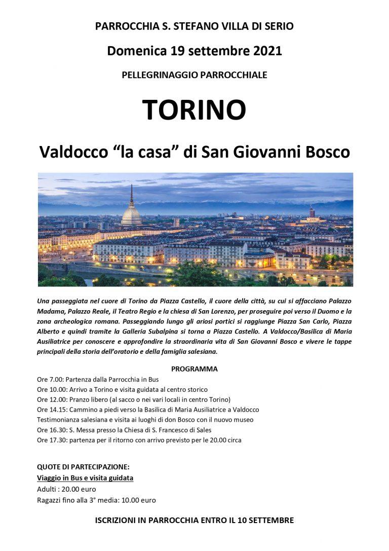 Viaggio Torino 2021