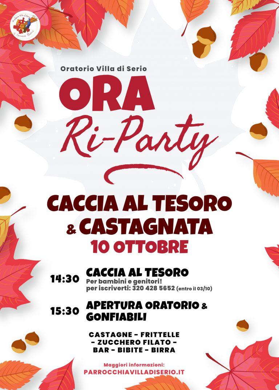 Ora Ri-Party Castagnata e caccia al tesoro 2021